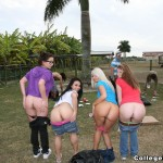 Students at the ranch