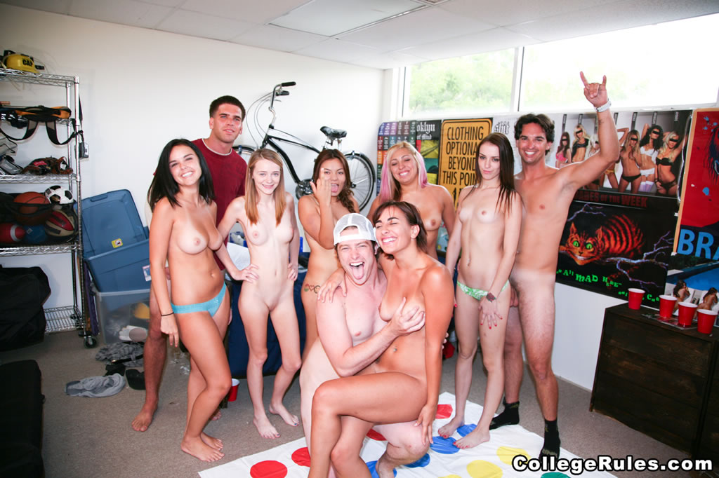College rules college girls and sex games